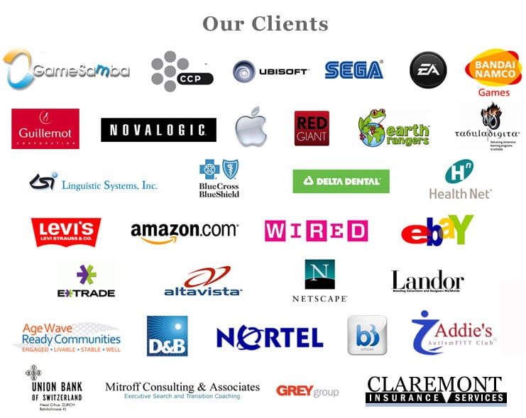 Companies we have completed executive search for